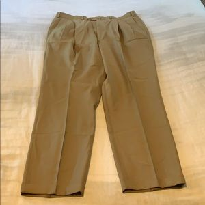 Men's Ermenegildo Zegna dress slacks 36/31 tan